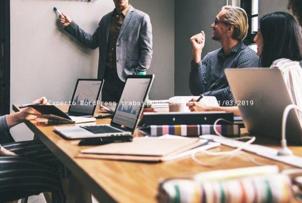 Experto Wordpress trabajando: Semana del 11/03/2019